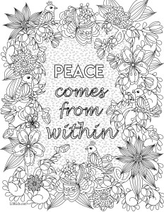 lilt kids free inspirational quote adult coloring book image