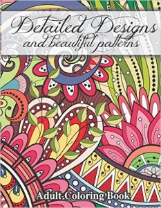 detailed designs & beautiful patterns adult coloring book