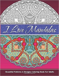 I love mandalas coloring book for adults