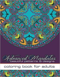 modern abstract art adult coloring book