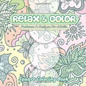 relax & color patterns & designs for adults