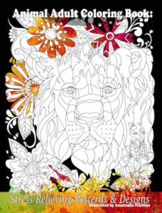 Stress Relieving Patterns Adult Coloring Book