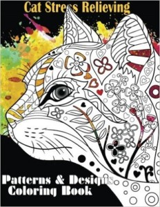 Enjoy 2 Free Images From Cat Stress Relieving Patterns The Adult Coloring Book Illustrated By Kajal Saini