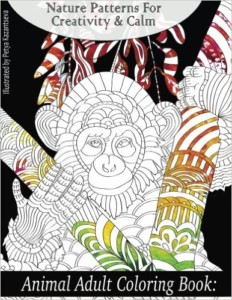Animal Adult Coloring Book: Nature Patterns for Creativity & Calm