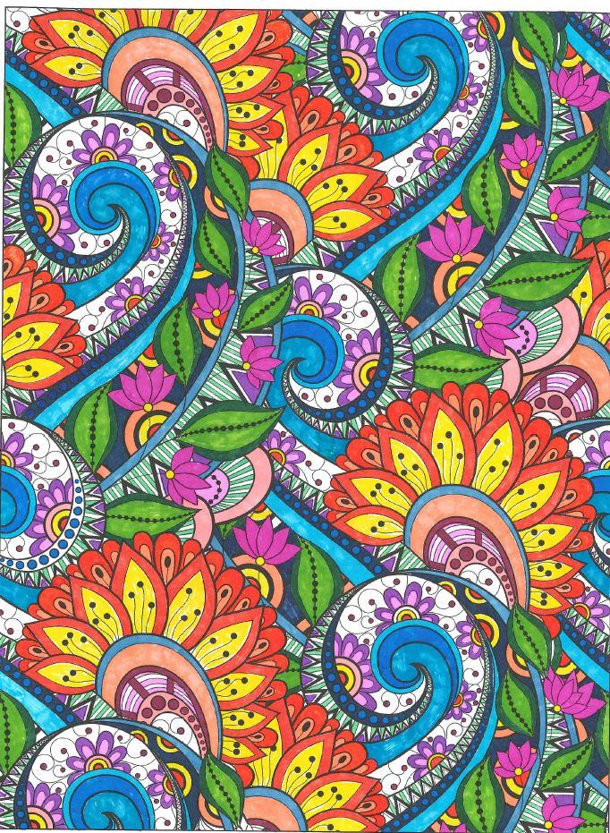 Adult Coloring Page Gallery