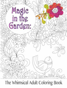 Enjoy 2 Free Images From Magic In The Garden Adult Coloring Book Illustrated By Anastasiia Nikitina